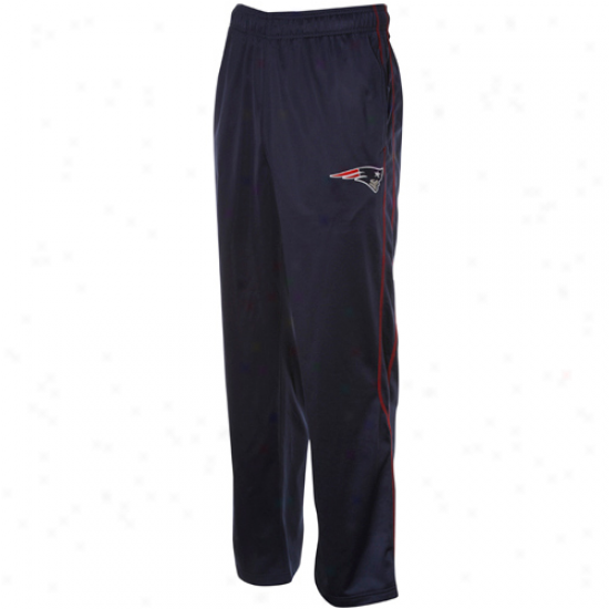 Reebok New England Patriots NavyB lue Active Pants