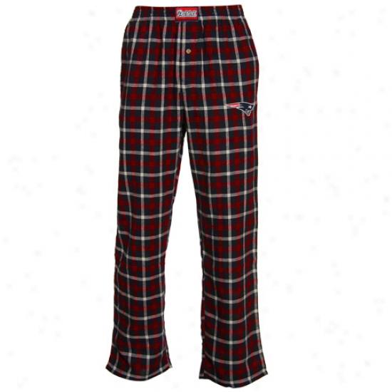 Reebok New Englabd Patriots Navy Pedantic  Tailgate Pajama Pants