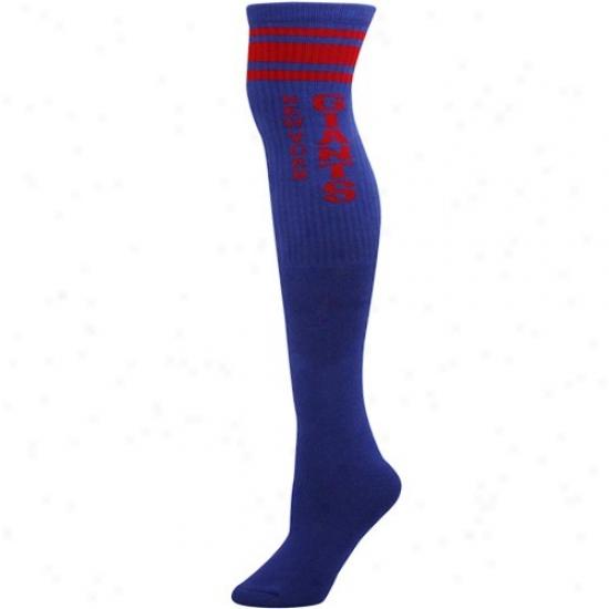 Reebok New York Giants Lzdiws Royal Blue Tube Socks