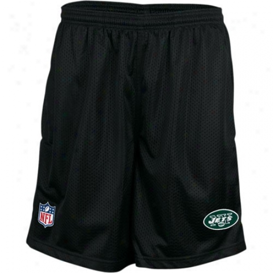 Reebok New York Jets Mourning Coaches Mesh Shorts