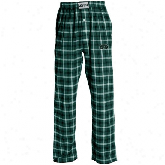 Reebok New York Jets Green Tailgate Pajama Pants