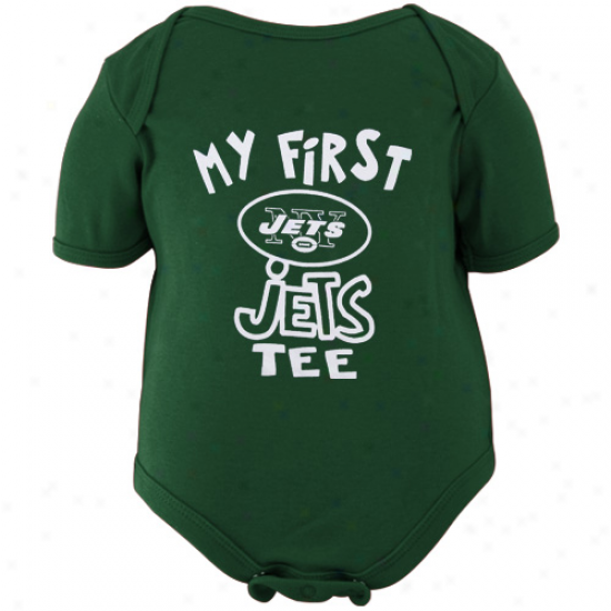 Reebok New York Jets Infant Green The Other First Creeper