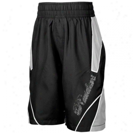 Reebok Oakland Raiders Youth Dark Axel Boardshorts
