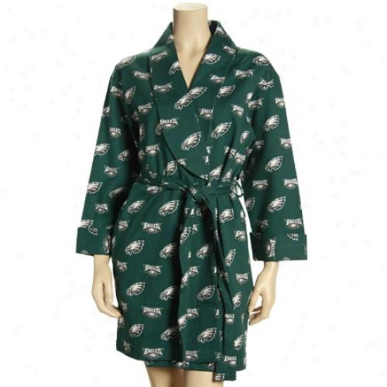 Reebok Philadelphia Eagles Ladies Green T2 Robe