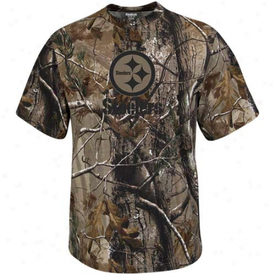 Reebok Pittsburgh Steelers Realtree Camo T-shirt