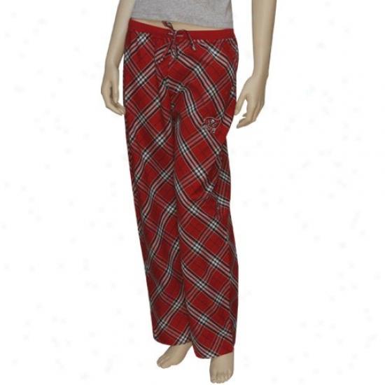 Reebok Tampa Bay Buccaneers Ladies Red Kona Pajama Pants