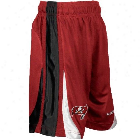 Reebok Tampa Bay Buccaneers Preschool Red The Thirty-five Basketball Shorts