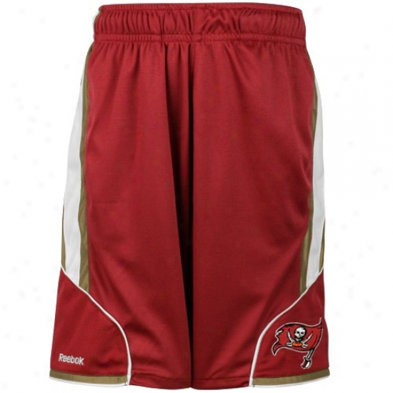 Reebok Tampa Bay Buccaneers Preschool Red The Thirty-five Mesh Shorts