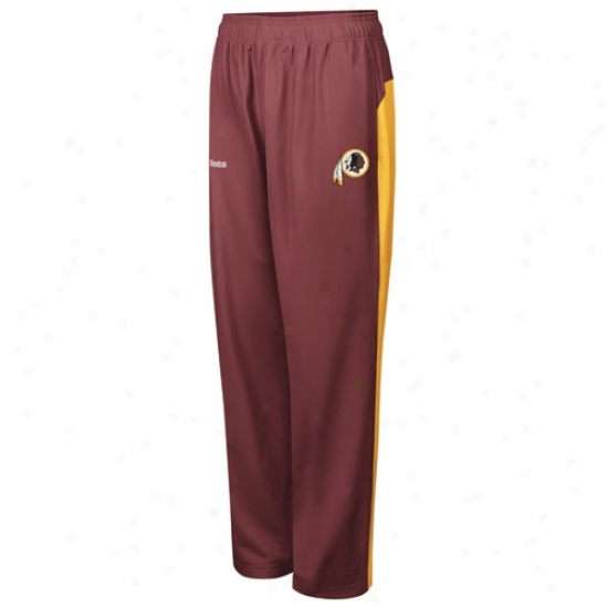 Reebok Washington Redskins Burgujdy Defender Pants