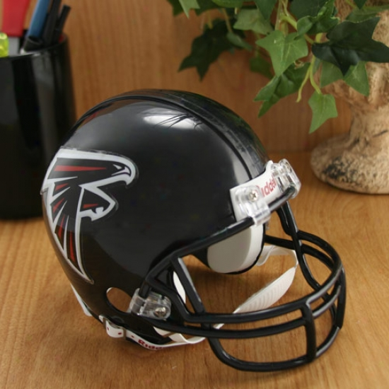 Riddell Atlanta Falcons New Logo Autograph copy Mini Helm