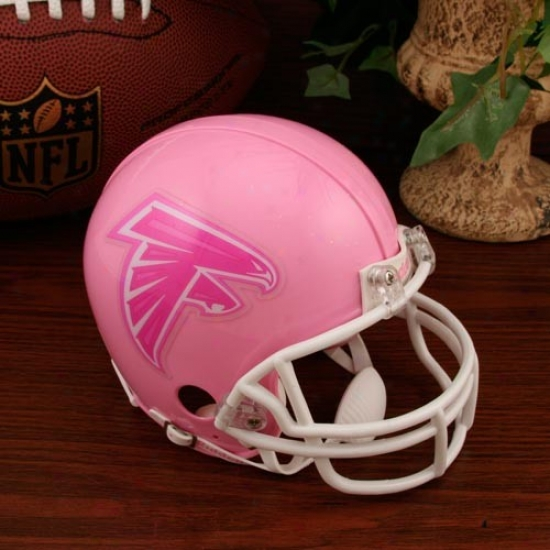 Riddell Atlanta aFlcons Pink Breast Cancer Mini Helmet