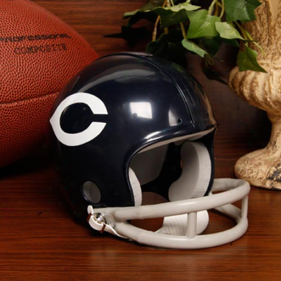 Riddell Chicago Bears Mini Autograph copy 1963-1972 Throwback Helmet