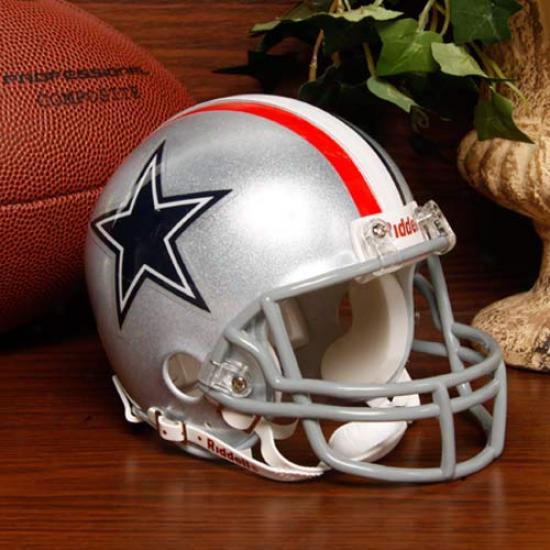 Riddell Dallas Cowboys Mini Replica 1967 Throwback Helmet