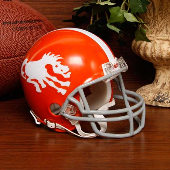 Riddell Denver Broncos Throwback Mini Helmet