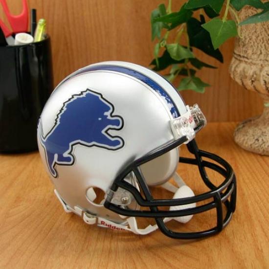 Riddell Detroit Lions Replica Mini Helmet