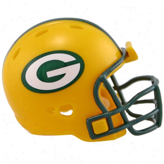 Riddell Green Bay Packers Revolution Pocket Size Helm