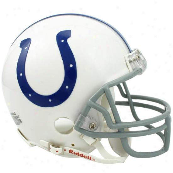 Riddell Indianapolis Colts Mini Replica Helmet