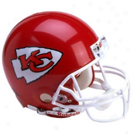 Riddell Kansas City Chiefs Full-skze Replica Helmet