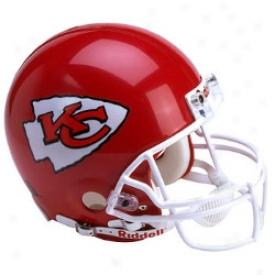 Riddell Kansas City Chiefs Full-skze Replica Helmet
