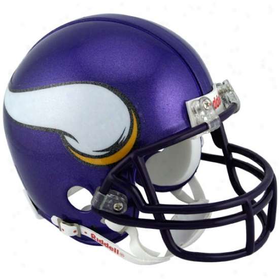 Riddell Minnes0ta Vikings Replica Mini Helmet