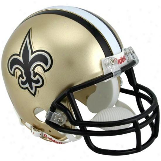 Riddell New Orleans Saints Mini Replica Helmet