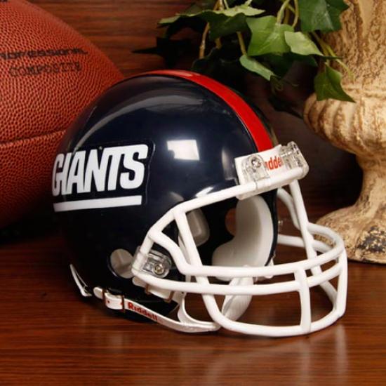 Riddell New York Giants Mini Replica 1981-1999 Throwback Helmet