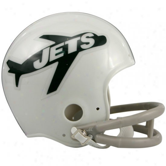 Riddell New York Jets 1963 Throwback Replica Mini Helmet
