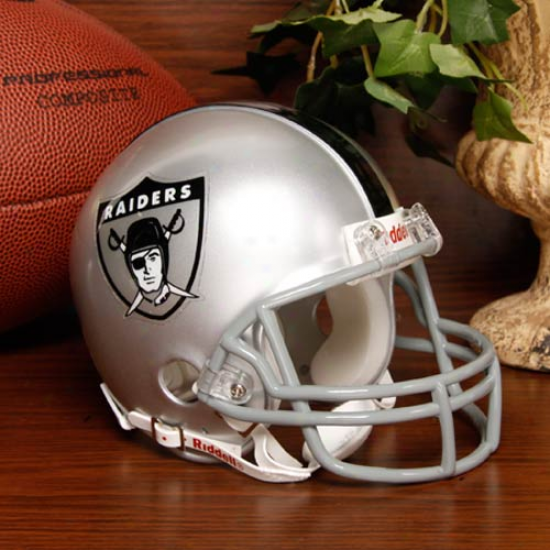 Riddell Oakland Raiders Mini Replica 1963 Throwback Helmet