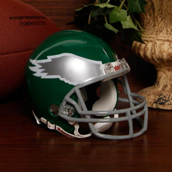Riddell Philadelphia Eagles Throwback Mini Helmet