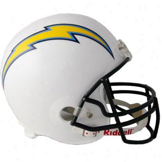 Riddell San Diego Chargers White Full Size Replica Helmet