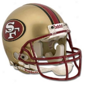 Riddell San Francisco 49ers Full-size Proline Authentic Helmet