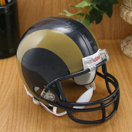Riddell St. Louis Rams Replica Mini Helmet