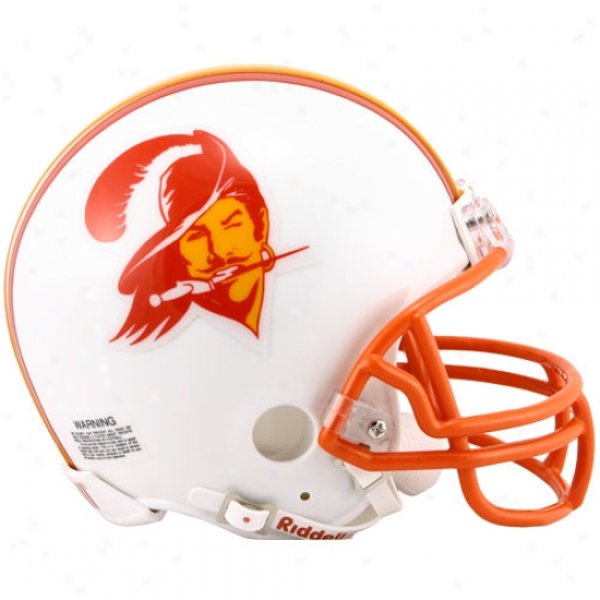 Riddell Tampa Bay Buccaneers 1976-1996 Throwback Replica Mini Helmet