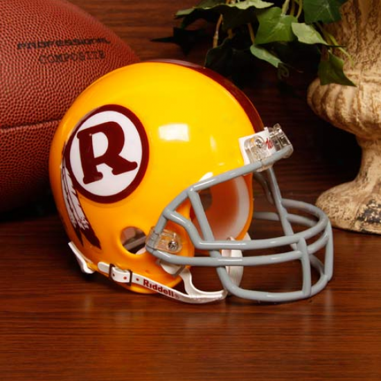 Riddell Washington Redskins Throwback Mini Helmet