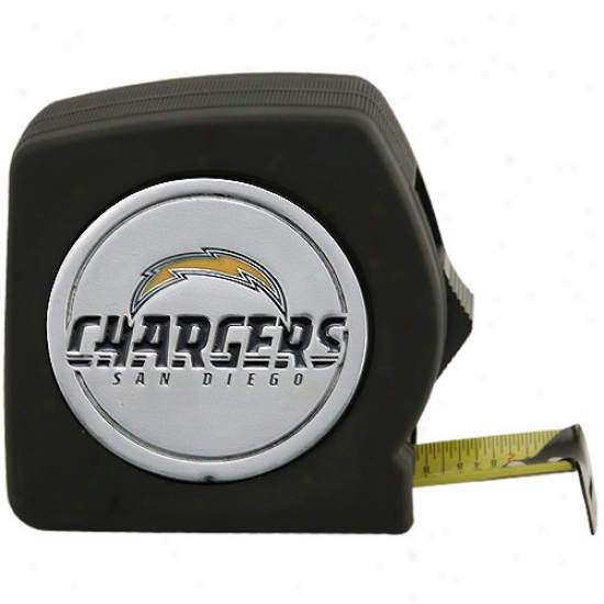 San Diego Chargers 25ft Tape Measure