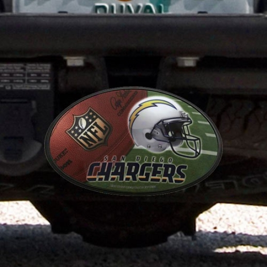 San Diego Chargers 3-in-1 Magnetic Hitch Covr