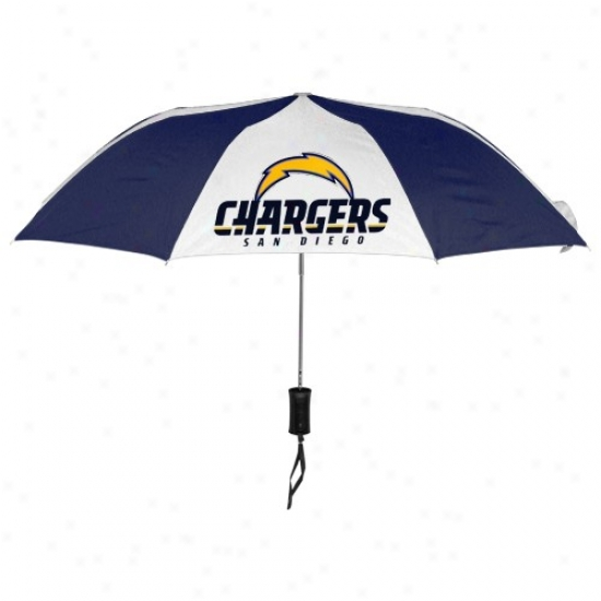 San Diego Chargers 42'' Folding Umbrella