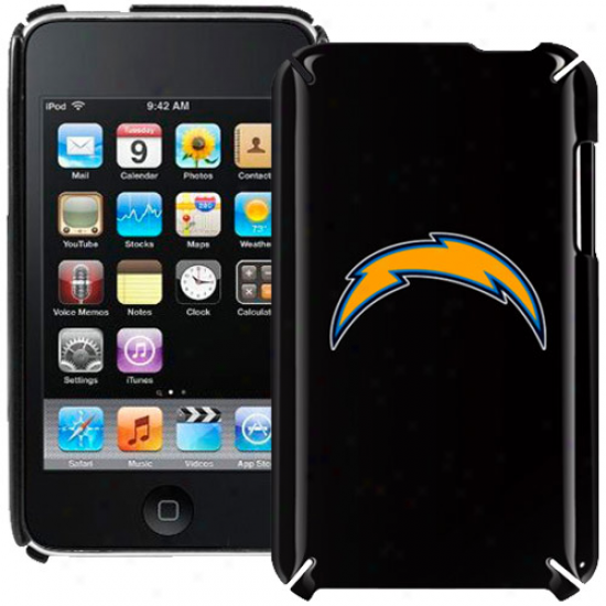 San Diego Chargers Black Ipod Touch Hard Shell
