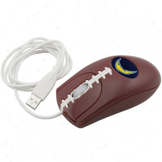 San Diego Chargers Brown Pro-grip Optical Mouse