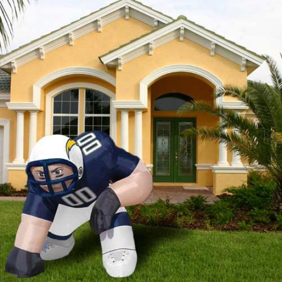 San Dieg Chargers Inflatable Bubba Mascot