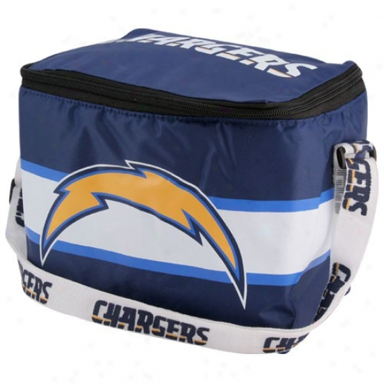 San Diego Chargers Navy Blue Insulated Lunch Bag