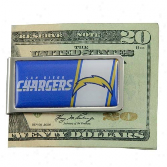 San Diego Chargers Nfl Money Clip