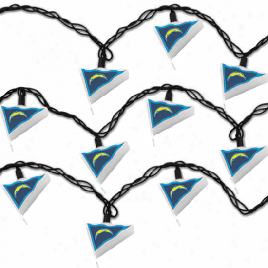 San Diego Chargers Pennaht Party Lights