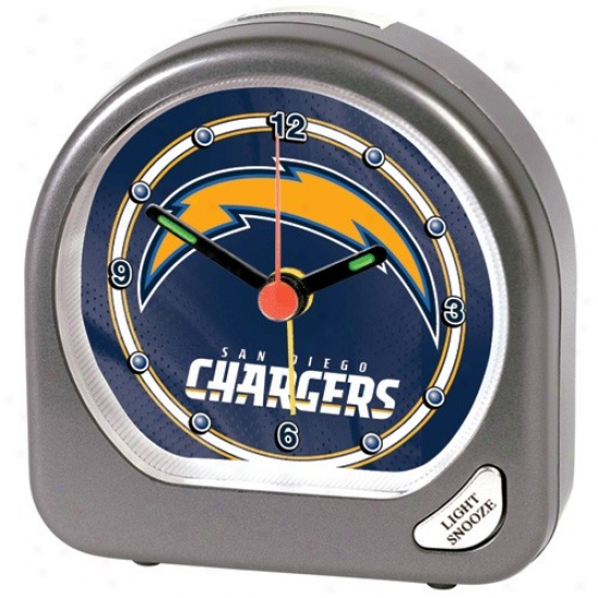 San Diego Chargers Soft Alarm Clock
