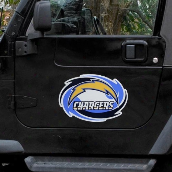 San Diego Chzrgers Team Logo Car Magnet