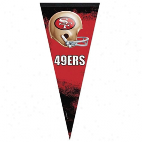 San Francisco 49ers 17'' X 40'' Premium Felt Pennant