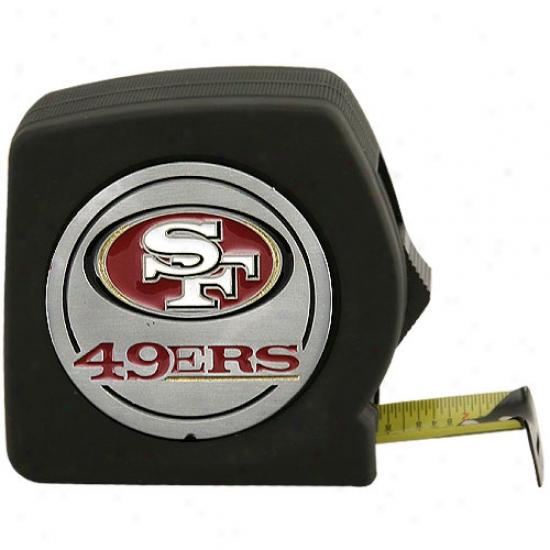 San Francisco 49ers 25ft Tape Measure
