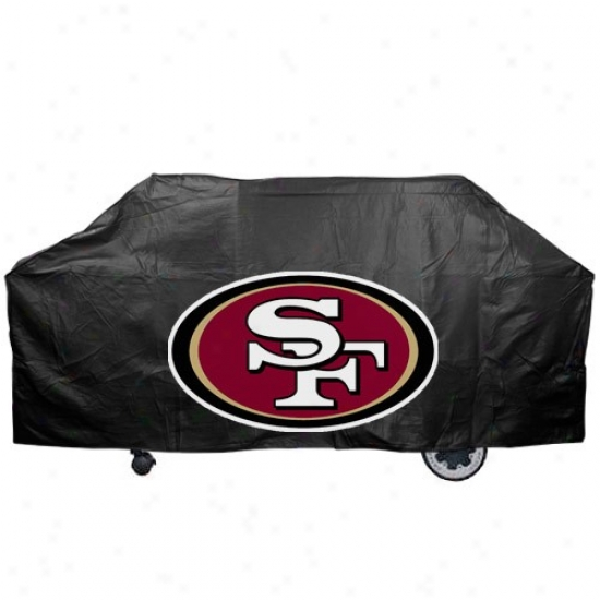 San Francisco 49ers Black Gridiron Cover