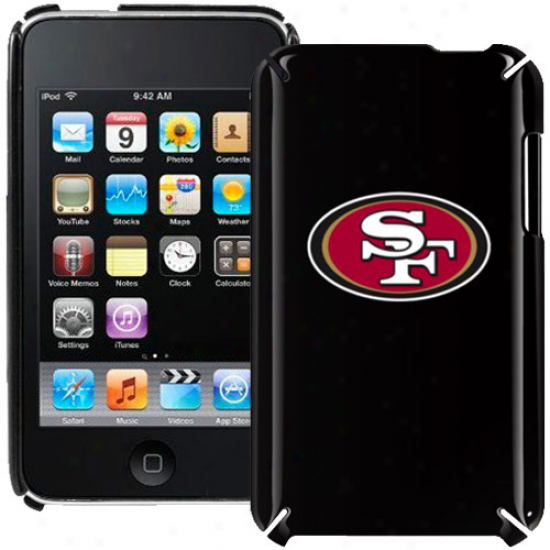 San Francisco 49ers Black Ipod Touch Hard Shell