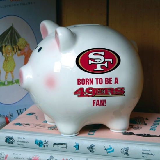 San Francisco 49ers Born To Bee Piggy Row